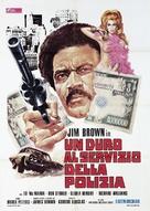 Slaughter's Big Rip-Off - Italian Movie Poster (xs thumbnail)