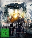 Robot Overlords - German Blu-Ray cover (xs thumbnail)
