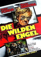 The Wild Angels - German Movie Poster (xs thumbnail)