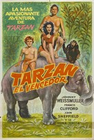 Tarzan Triumphs - Argentinian Movie Poster (xs thumbnail)