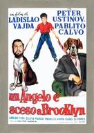 Un angelo è sceso a Brooklyn - Italian Movie Poster (xs thumbnail)