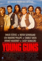Young Guns - German VHS cover (xs thumbnail)