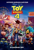 Toy Story 4 - Turkish Movie Poster (xs thumbnail)