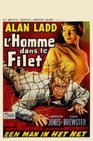 The Man in the Net - Belgian Movie Poster (xs thumbnail)