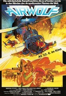 Airwolf - German Movie Poster (xs thumbnail)