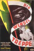 The Spiral Staircase - German Movie Poster (xs thumbnail)