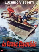 La terra trema: Episodio del mare - French Re-release poster (xs thumbnail)