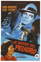 Where the Sidewalk Ends - Spanish Movie Poster (xs thumbnail)