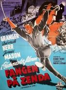 The Prisoner of Zenda - Danish Movie Poster (xs thumbnail)