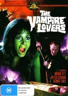 The Vampire Lovers - Australian Movie Cover (xs thumbnail)