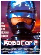 RoboCop 2 - German Movie Poster (xs thumbnail)