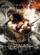 Conan the Barbarian - Uruguayan Movie Poster (xs thumbnail)