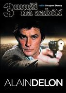 3 hommes à abattre - Czech DVD movie cover (xs thumbnail)