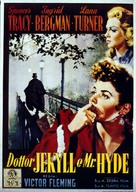 Dr. Jekyll and Mr. Hyde - Italian Movie Poster (xs thumbnail)