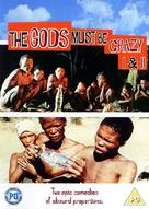 The Gods Must Be Crazy - British DVD cover (xs thumbnail)