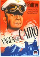 Five Graves to Cairo - Swedish Movie Poster (xs thumbnail)