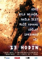 13 Hours: The Secret Soldiers of Benghazi - Czech Movie Poster (xs thumbnail)