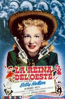 Annie Get Your Gun - Spanish Movie Poster (xs thumbnail)