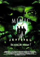 Mimic: Sentinel - French DVD cover (xs thumbnail)