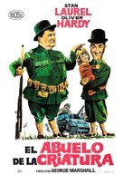 Pack Up Your Troubles - Spanish Movie Poster (xs thumbnail)