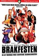 La grande bouffe - Swedish DVD movie cover (xs thumbnail)