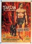 Tarzan and the Lost Safari - Spanish Movie Poster (xs thumbnail)