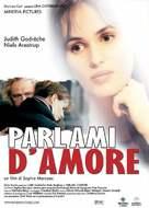 Parlez-moi d'amour - Italian DVD movie cover (xs thumbnail)