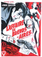 Apenas un delincuente - French Movie Poster (xs thumbnail)