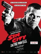 Sin City: A Dame to Kill For - French Movie Poster (xs thumbnail)