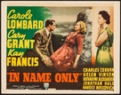 In Name Only - Movie Poster (xs thumbnail)