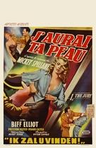 I, the Jury - Belgian Movie Poster (xs thumbnail)