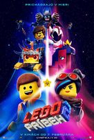 The Lego Movie 2: The Second Part - Slovak Movie Poster (xs thumbnail)