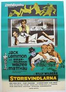 The Fortune Cookie - Swedish Movie Poster (xs thumbnail)