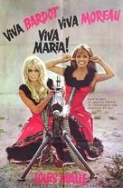 Viva María! - Romanian Movie Poster (xs thumbnail)