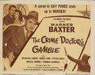 Crime Doctor's Gamble - Movie Poster (xs thumbnail)