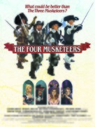 The Four Musketeers - British Movie Poster (xs thumbnail)
