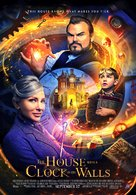 The House with a Clock in its Walls - Lebanese Movie Poster (xs thumbnail)