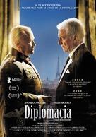 Diplomatie - Spanish Movie Poster (xs thumbnail)