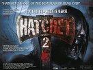 Hatchet 2 - British Movie Poster (xs thumbnail)