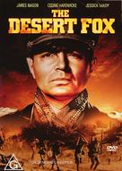 The Desert Fox: The Story of Rommel - Australian DVD cover (xs thumbnail)