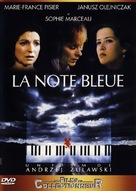 La note bleue - French DVD cover (xs thumbnail)