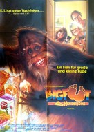 Harry and the Hendersons - German Movie Poster (xs thumbnail)