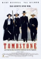 Tombstone - German Movie Poster (xs thumbnail)