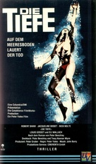 The Deep - German VHS movie cover (xs thumbnail)