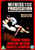 Witness for the Prosecution - British Movie Cover (xs thumbnail)