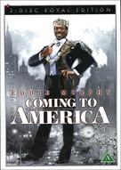 Coming To America - Danish DVD cover (xs thumbnail)