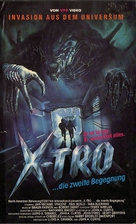 Xtro II: The Second Encounter - German VHS cover (xs thumbnail)