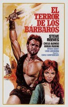 Il terrore dei barbari - Spanish Movie Poster (xs thumbnail)