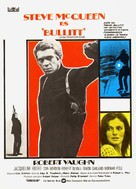 Bullitt - Spanish Movie Poster (xs thumbnail)