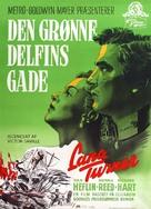 Green Dolphin Street - Danish Movie Poster (xs thumbnail)